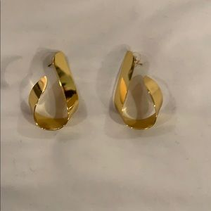 J crew gold earrings